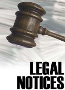 Legal notices gavel, Las Vegas property management