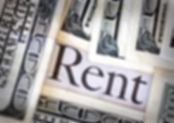 "Dollar images and the word ""rent"", Las Vegas property management"