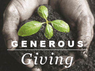Giving Generously