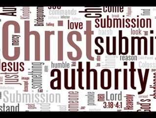 God Ordained Authority - Romans 13:1-7
