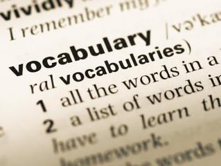 Vocabulary vs. Dictionary