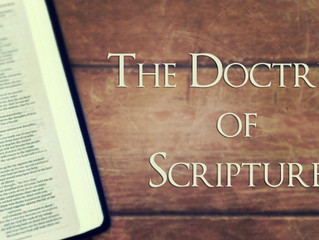 A Brief Doctrine of Scripture