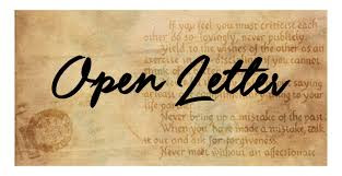 Open Letter to those who have Failed Jesus