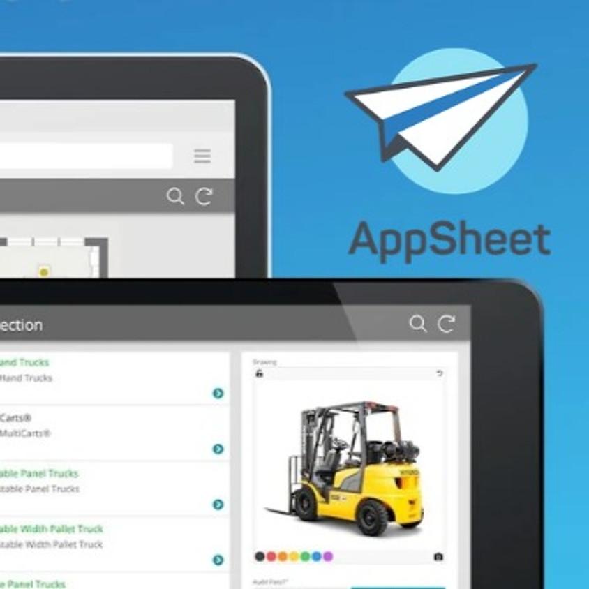 מבוא לפיתוח אפליקציות ב- AppSheet - מקוון