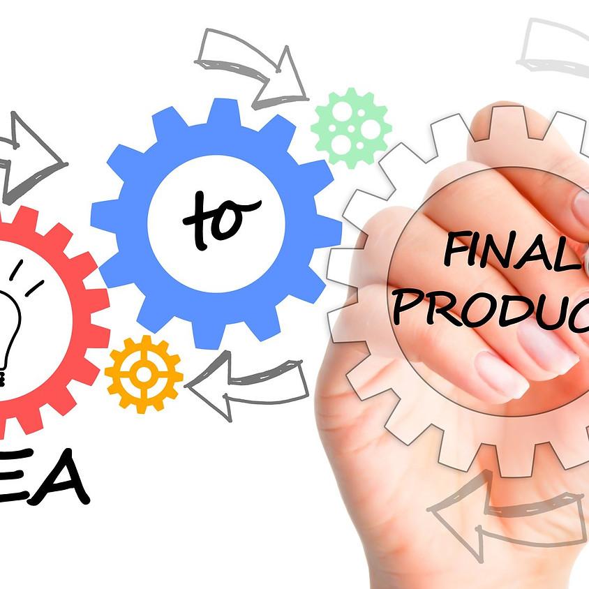 הרצאה- מרעיון למוצר (חינם, בהרשמה מראש)