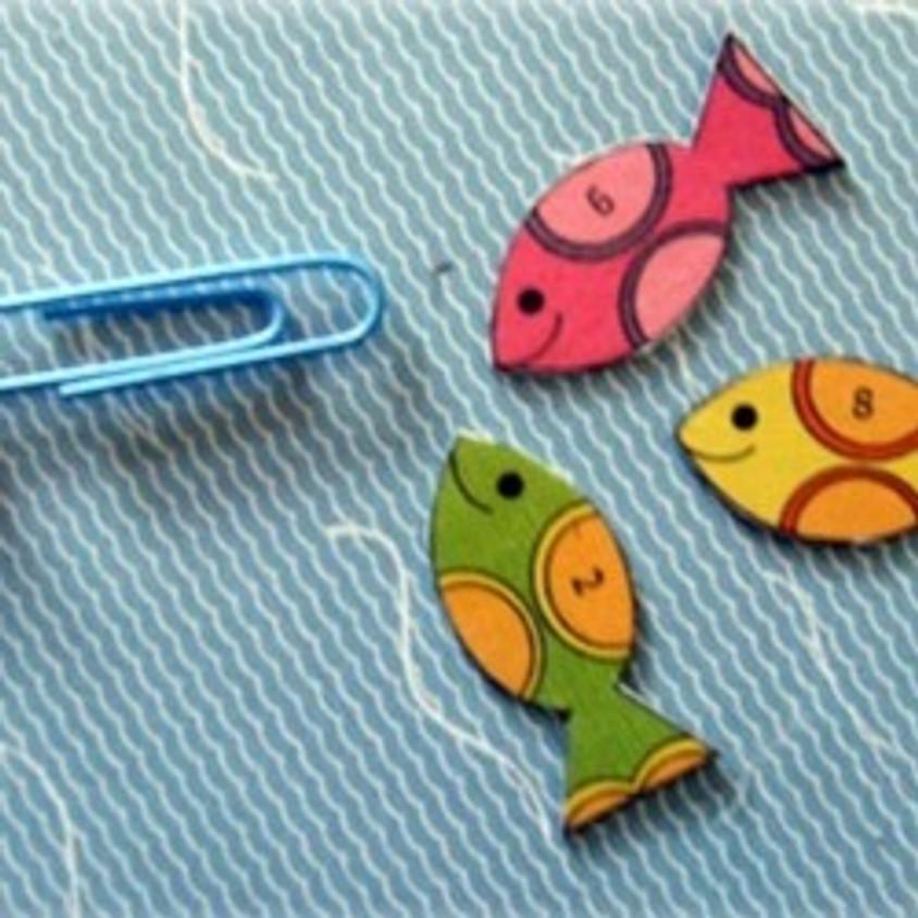 יוצאים לדוג בלי לצאת מהבית - סדנת יצירה ממגנטים - מקוון