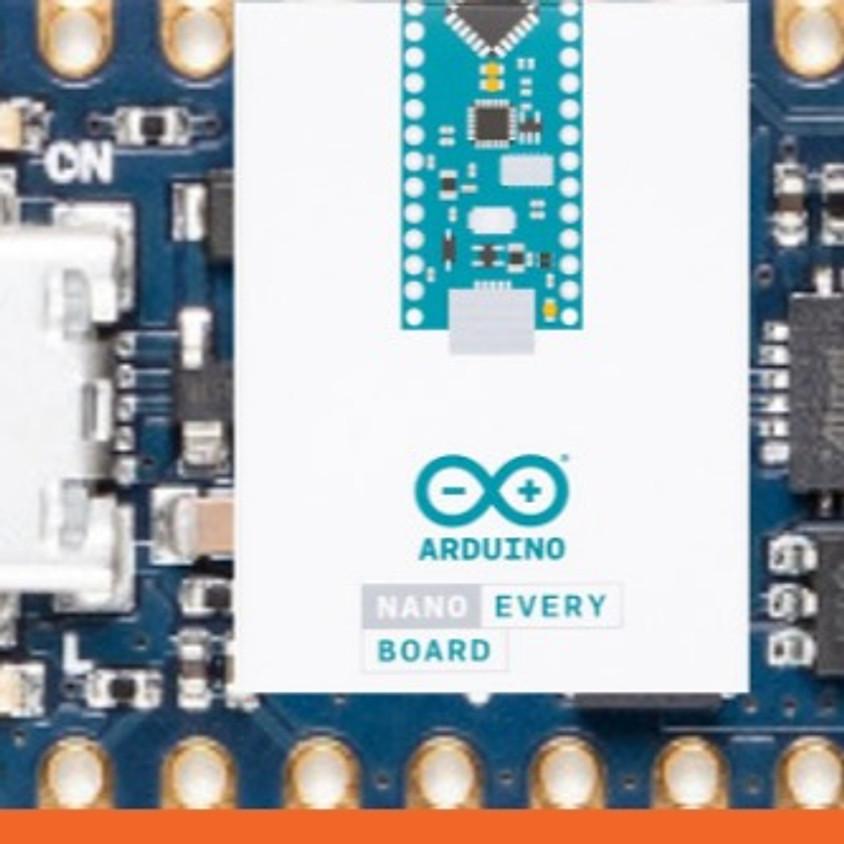 ארדואינו ATmega4809 Nano Every - מפגש עם עידו גנדל - מקוון
