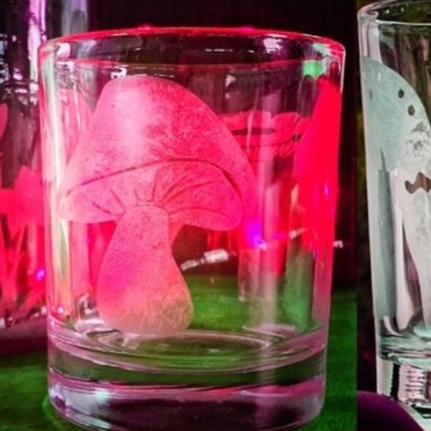 סדנת צריבת צנצנות זכוכית - etching