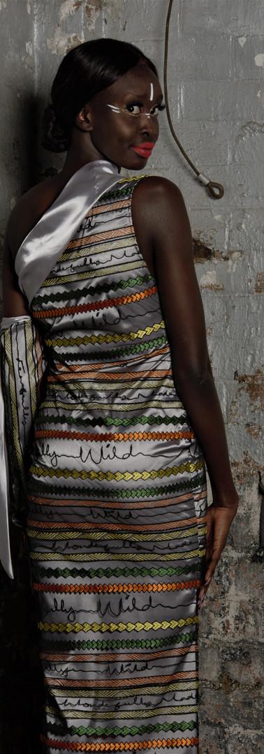 Tatau Tribal Cut Out Dress
