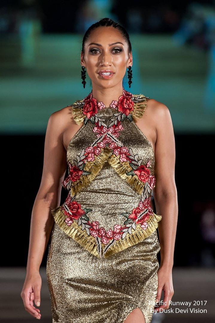 Rose Gold Armour Dress