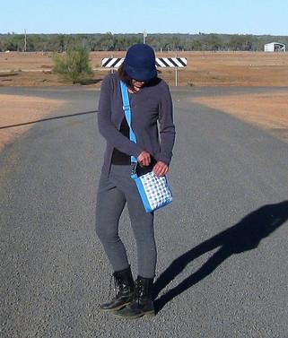 Blue Diamond Crossbody bag