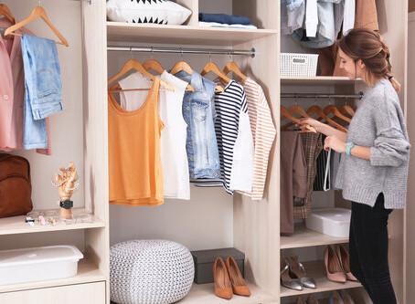 Reducing Closet Clutter