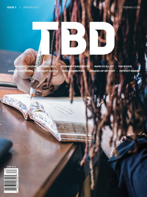 TBD MAGAZINE MAPS