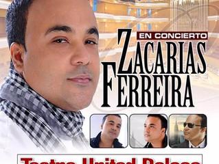 Zacarías Ferreira se presentara solo en el United Palace de Nueva York