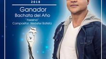 """""""Asesina"""" elegida Bachata del Año en Premios Soberano"""