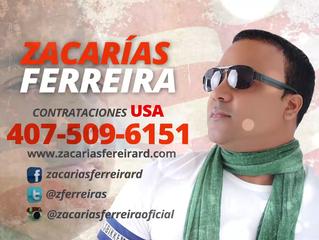 Zacarías Ferreira de gira en New York y toda la costa este de los Estados Unidos en Febrero y Marzo