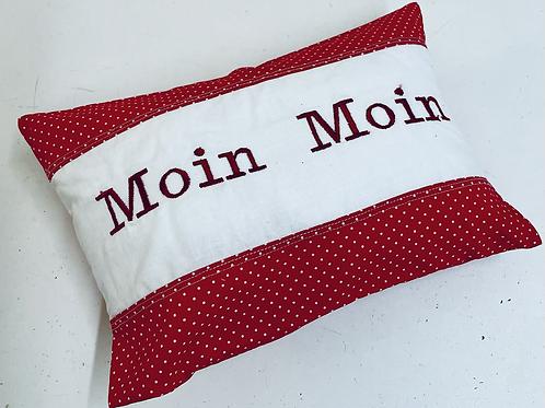 "Kissen ""Moin Moin"" 20 cm x 30 cm"