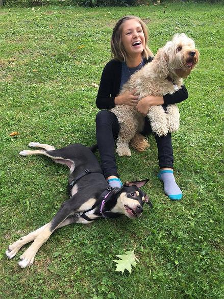Lien d'amitié chien-humain