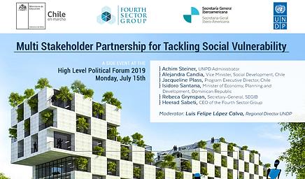 Multi Stakeholder Partnership for Tackling Social Vulnerability