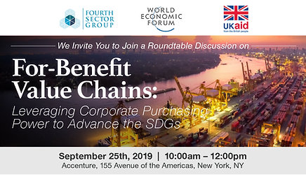 For-Benefit Value Chains