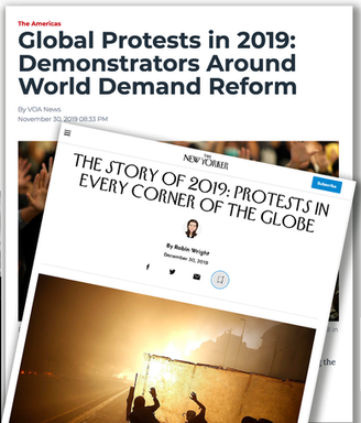 Global Protests Around the Globe