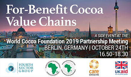 For-Benefit Cocoa Value Chains