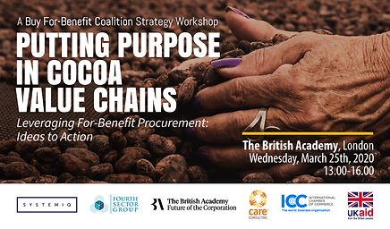 Putting Purpose in Cocoa Value Chains