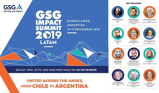 GSG Impact Summit 2019 LATAM