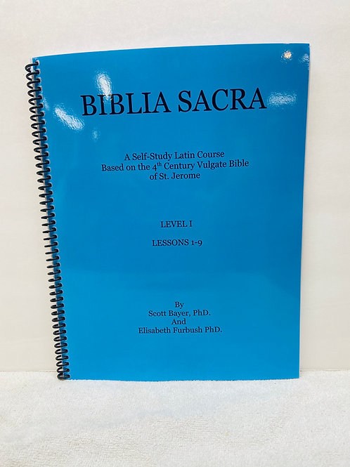 Biblia Sacra Latin Course Level 1 Workbook-Current Printing