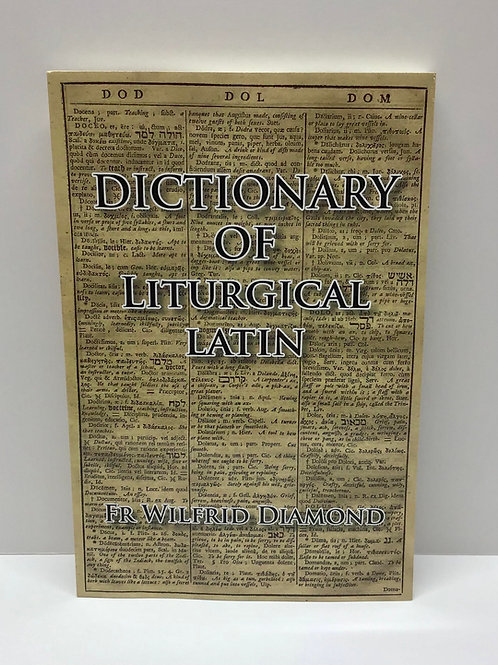 Dictionary of Liturgical Latin