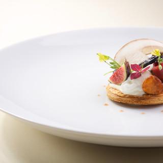 Tarte fine aux cèpes / jambon bellota