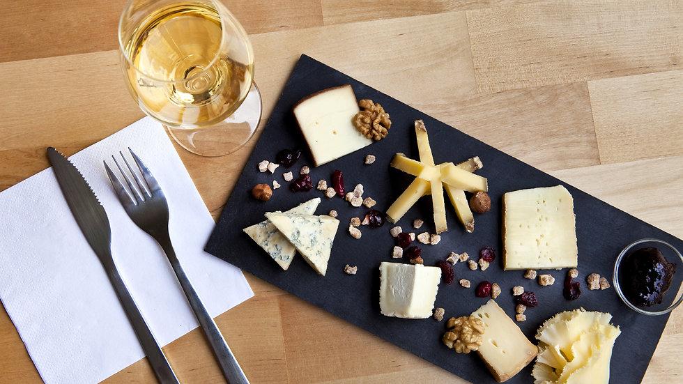 """Carte cadeau pour une dégustation """"Les accords vins et fromages"""" pour 2 pers"""