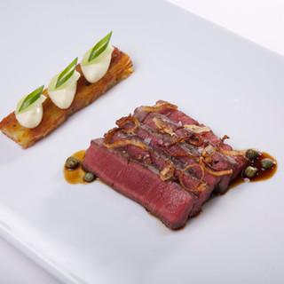 Filet de boeuf / pomme de terre / fenouil