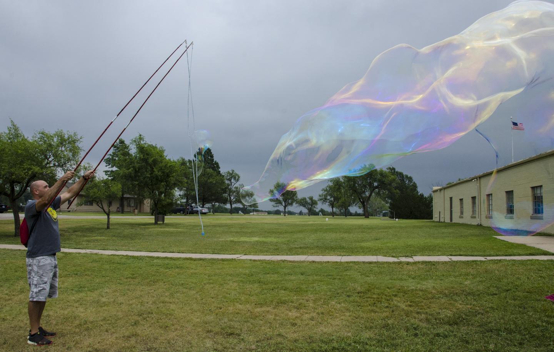 Big Bubble launch at Wichita