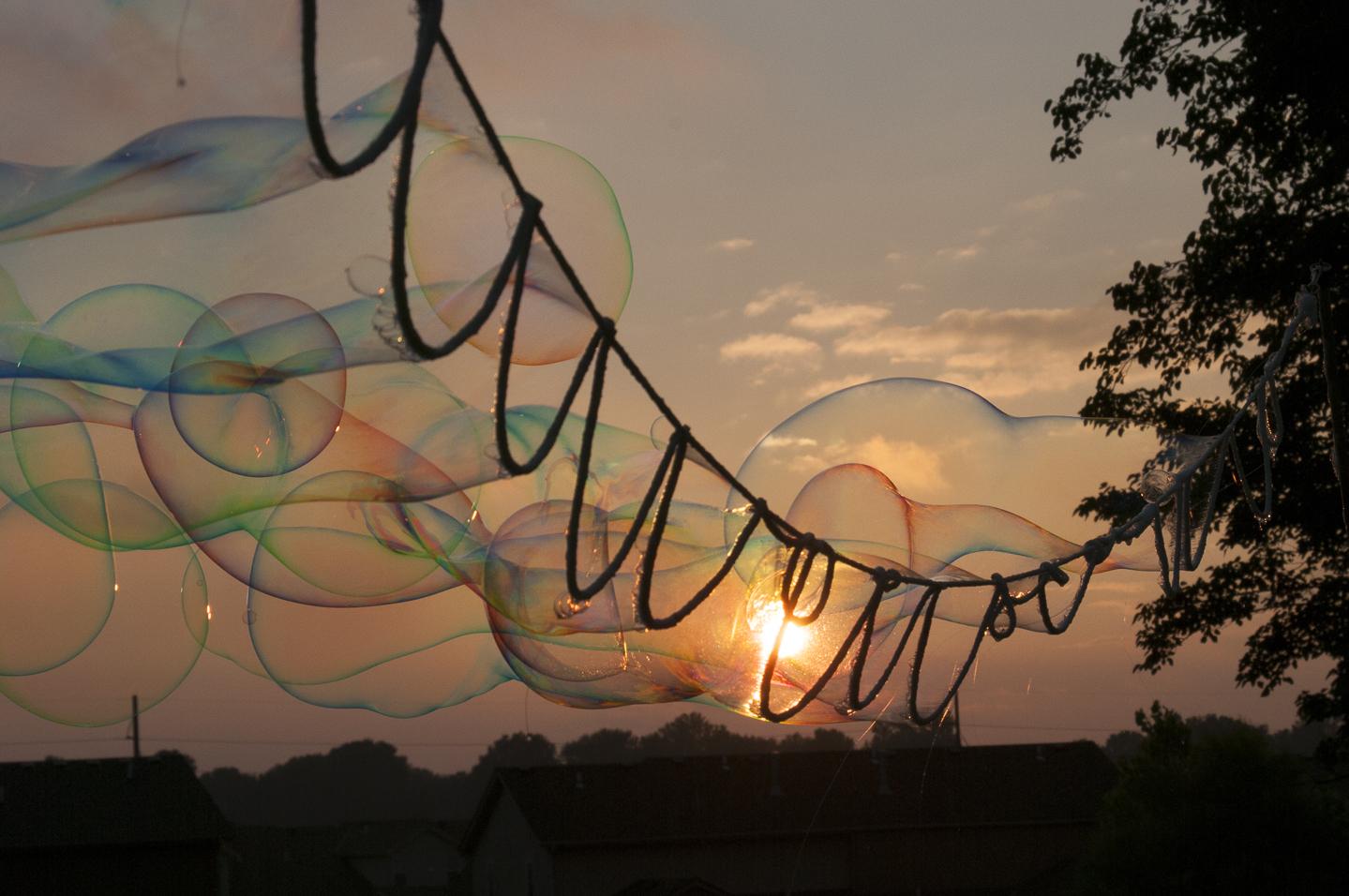 7' Galand at sunset