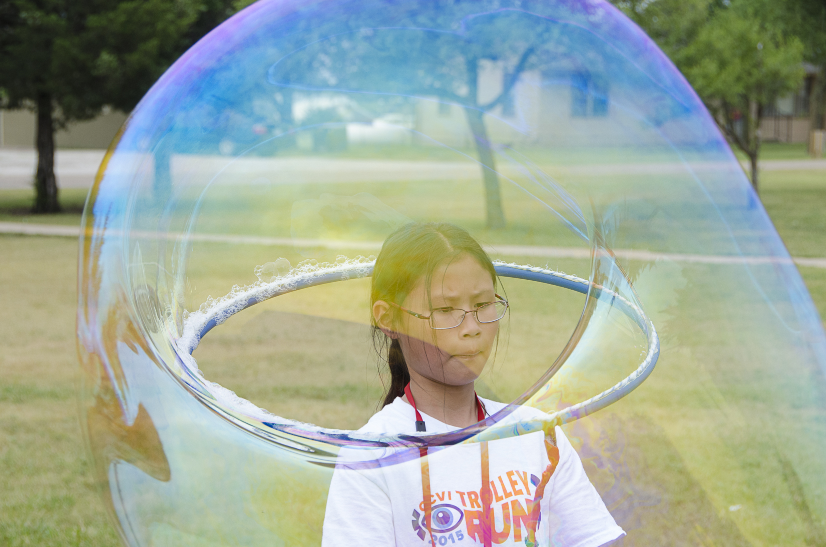 Head in Bubble