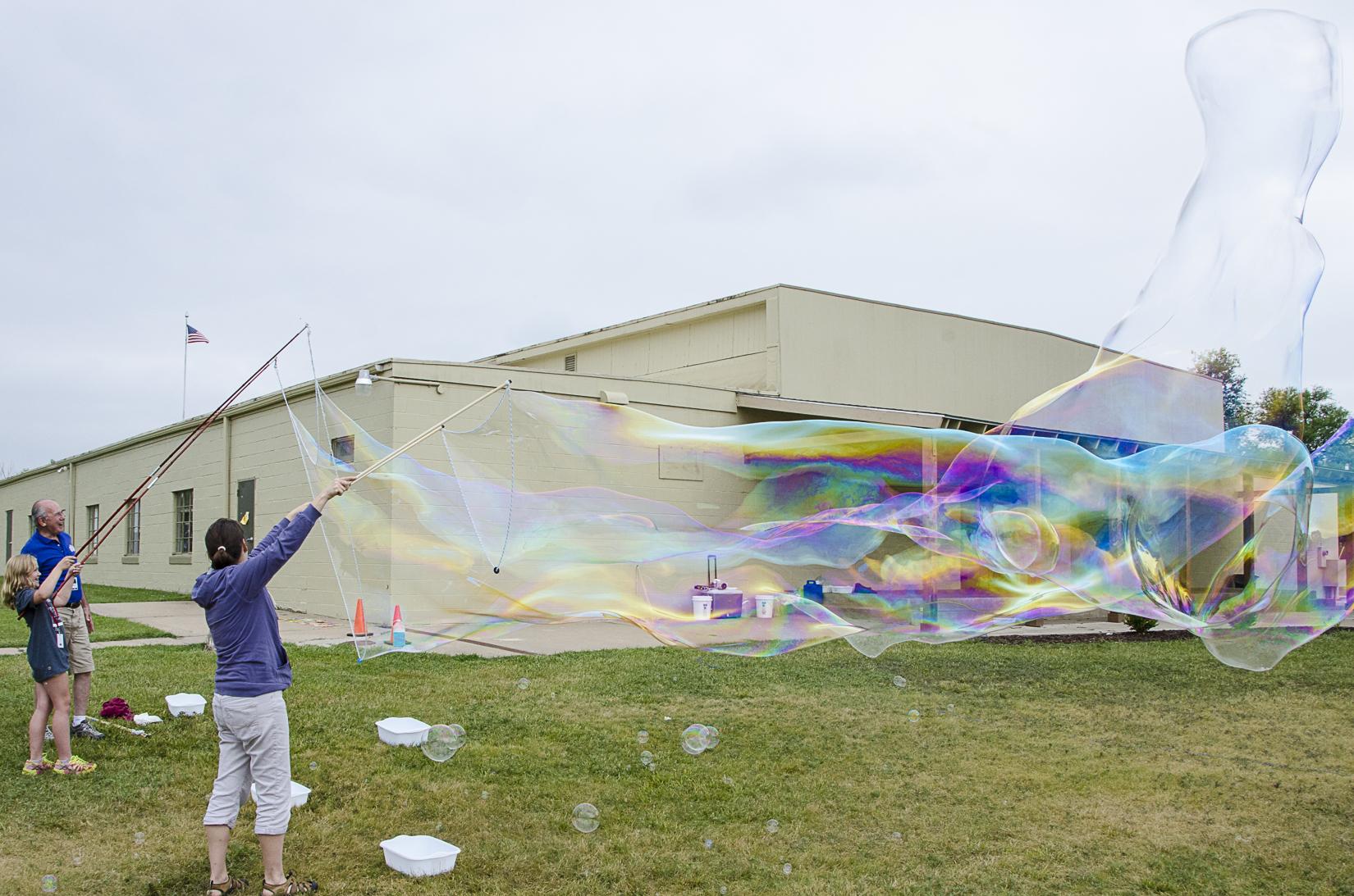 Long bubbles