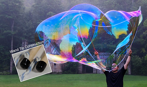 "Large Bubble Wand (48"" top rope on 48"" sticks)"