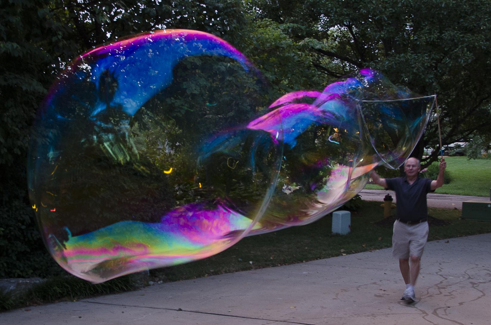 Driveway bubble