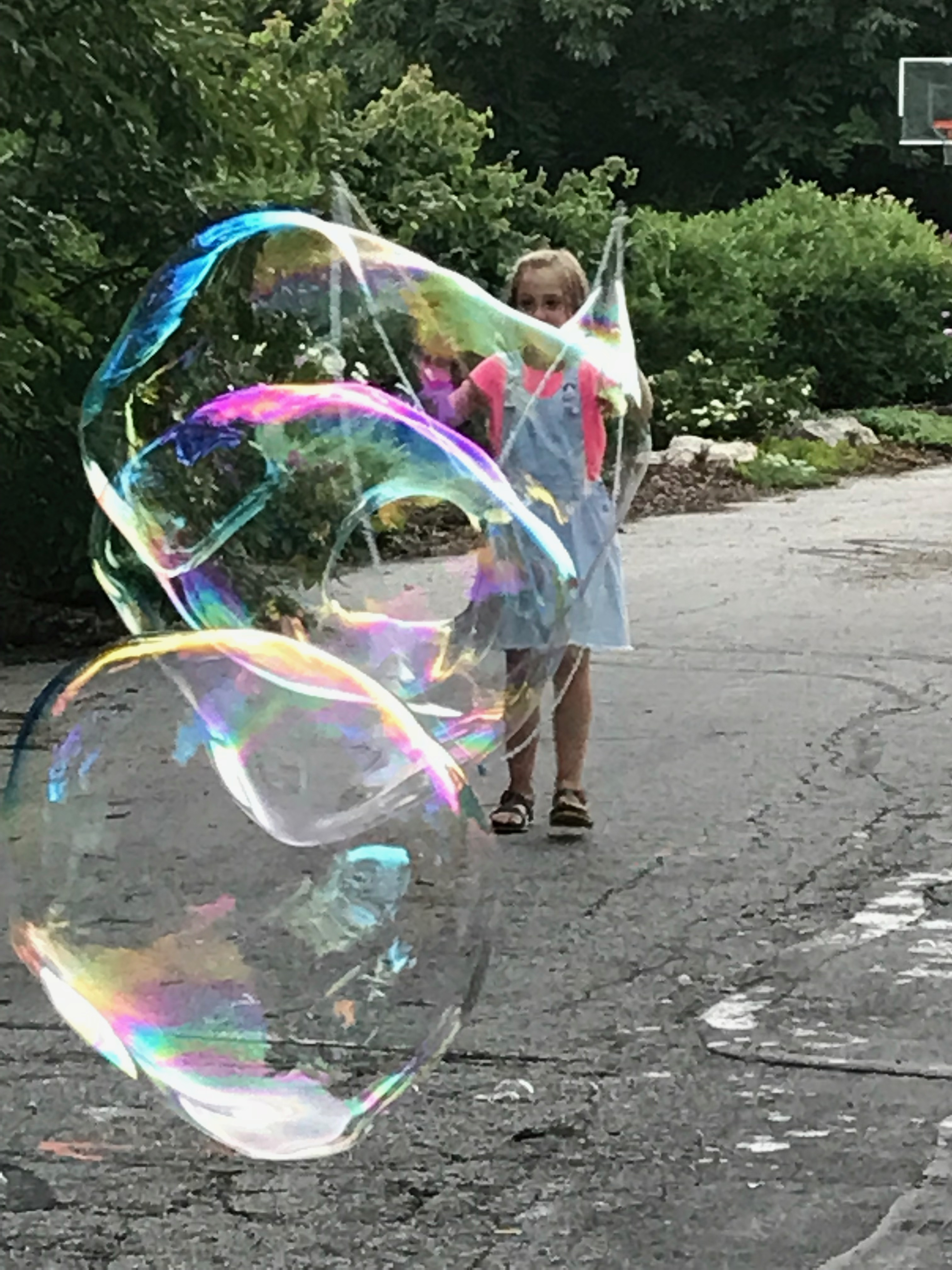 Bubble after bubble