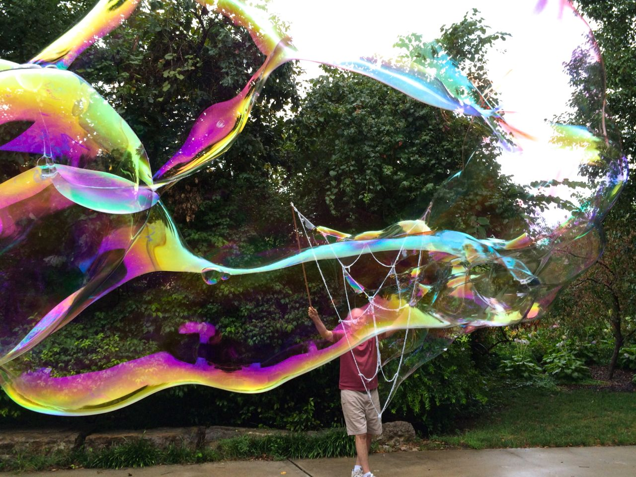 Bubble Time after rain, Kansas