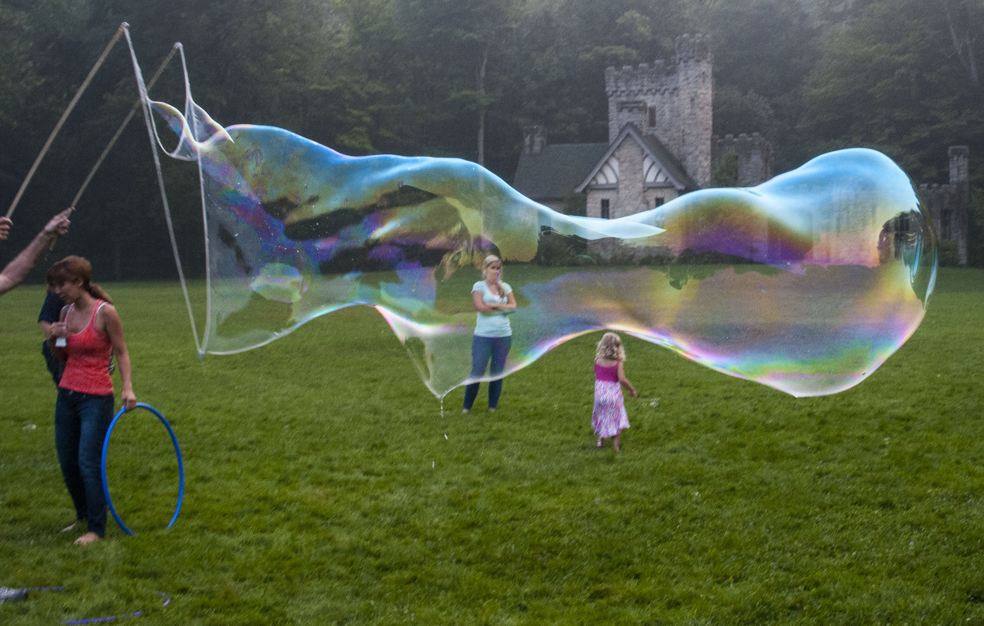 Long Bubble at Squires Castle, Ohio
