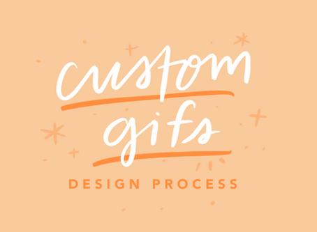 CUSTOM GIF STICKERS: Design Process