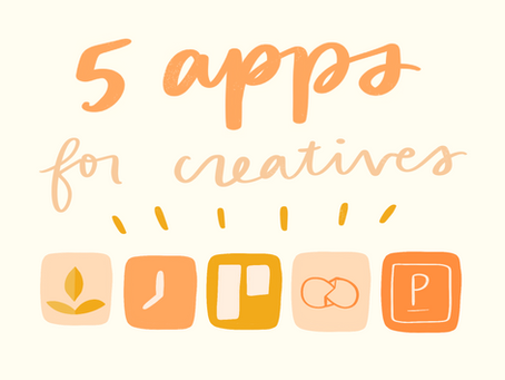 5 apps for creative work