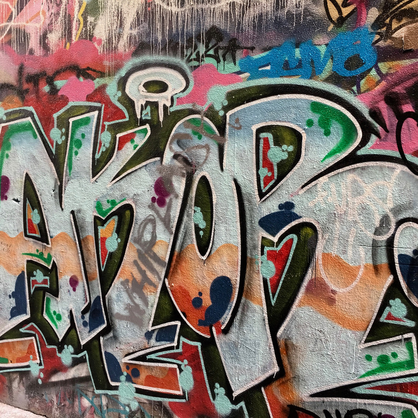 Close up | Graffiti | Union Lane