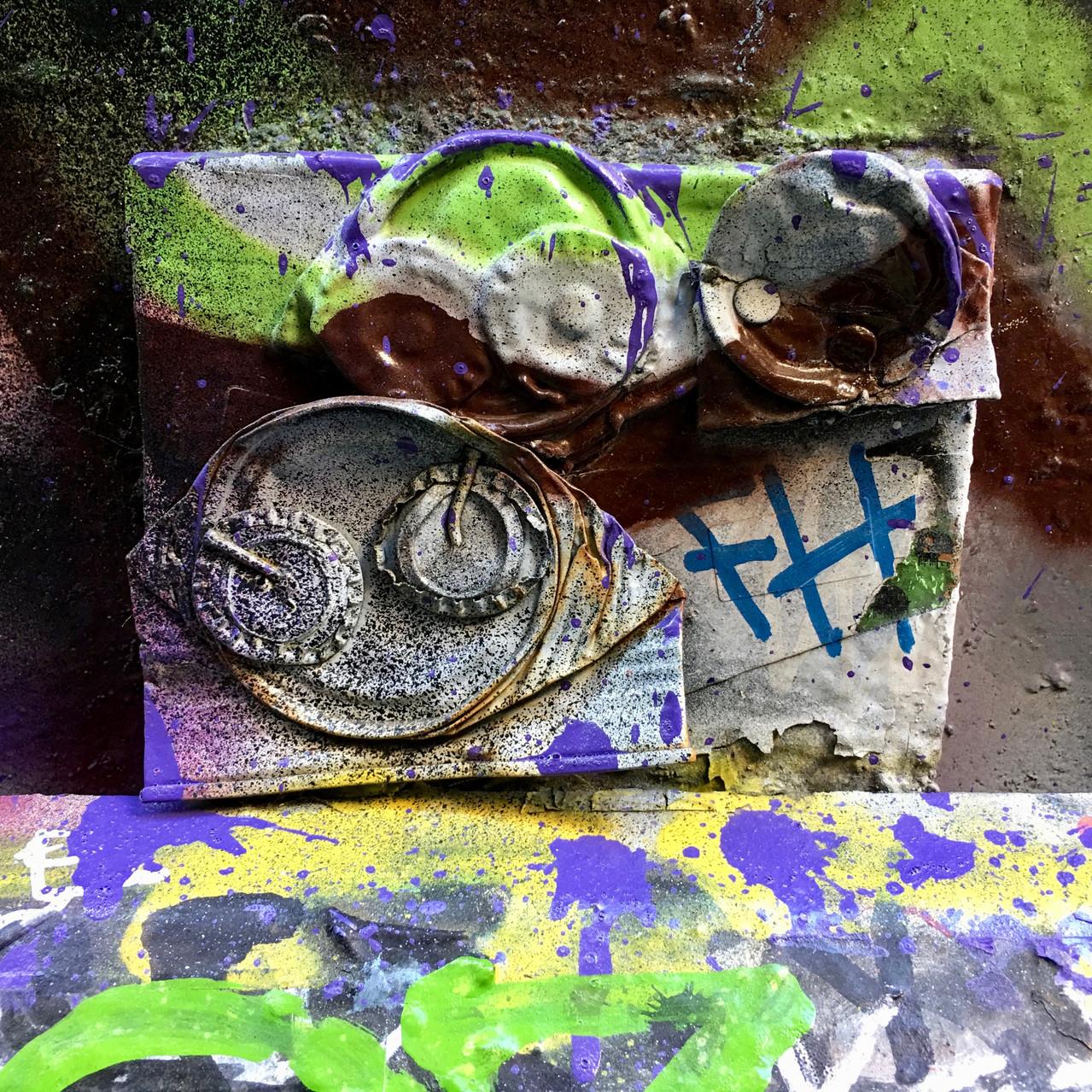 Close up | Graffiti wall | Union Lane