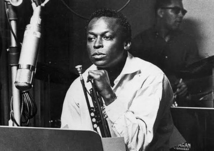 Kind of Blue recording sessions: Miles Davis contemplating the music