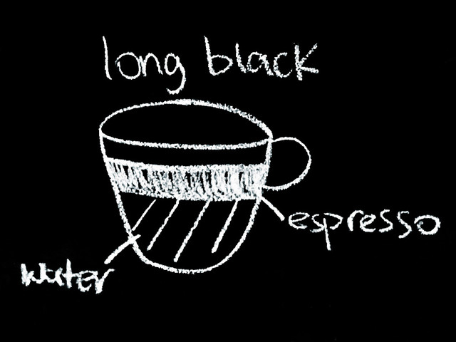 Long Black Coffee