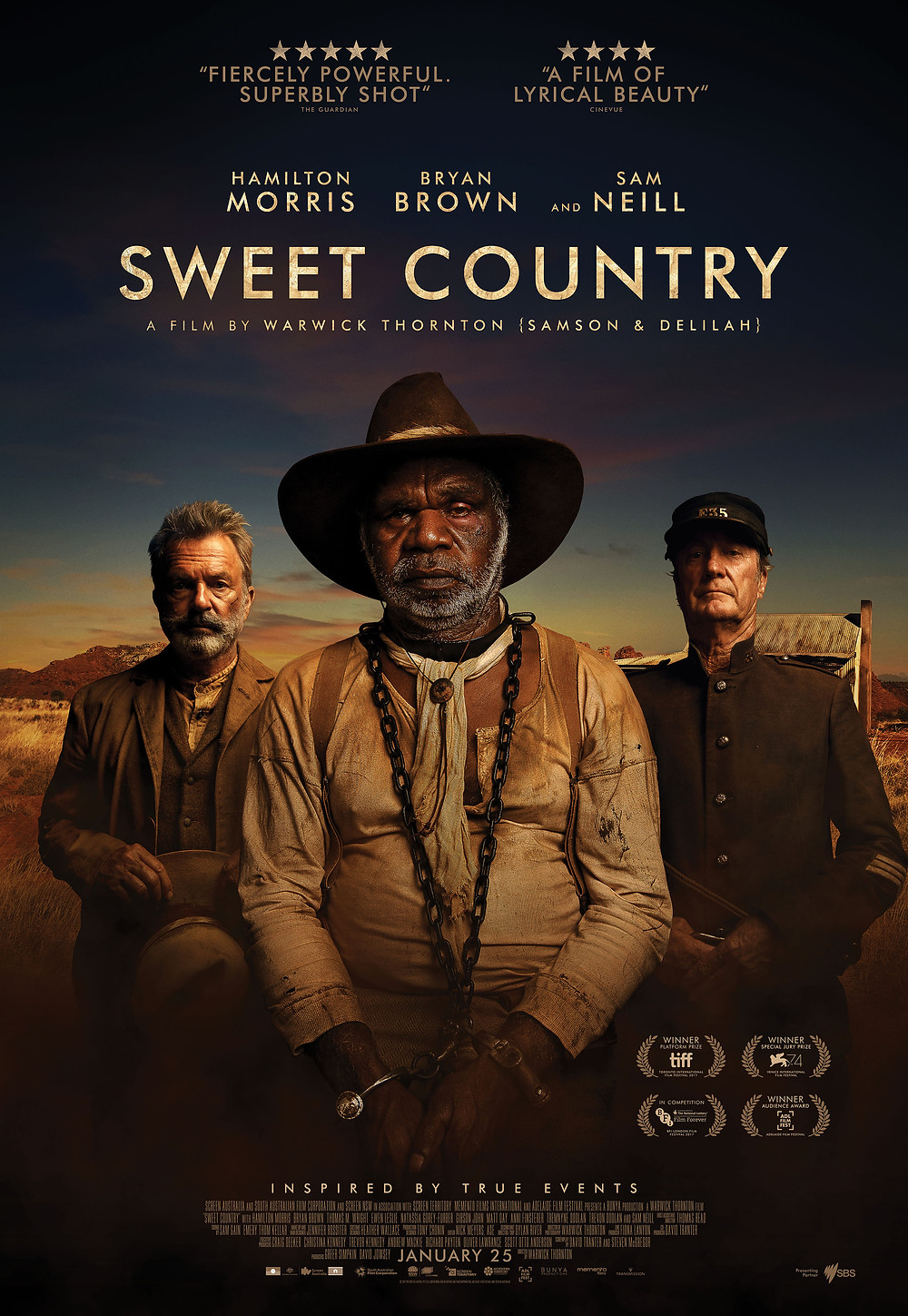 Poster Sweet Country movie