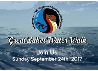 Great Lakes Water Walk this Sunday